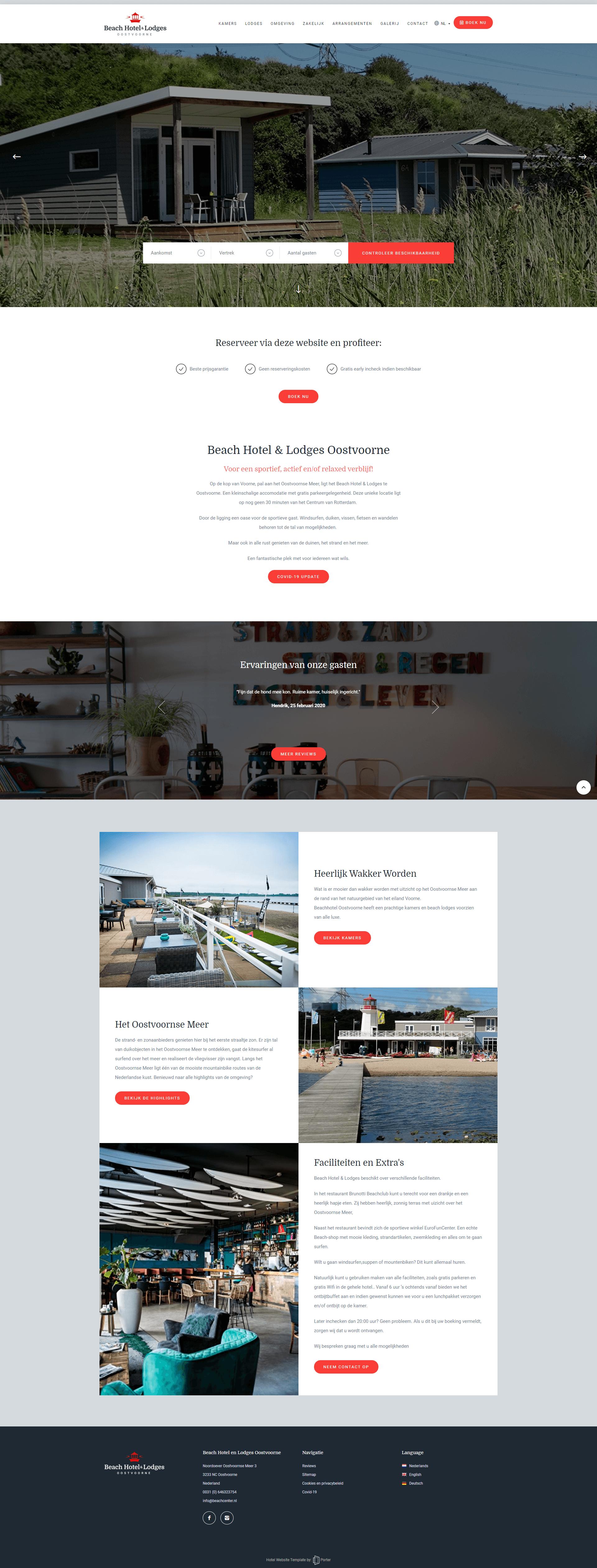 Beach Hotel & Lodges Oostvoorne