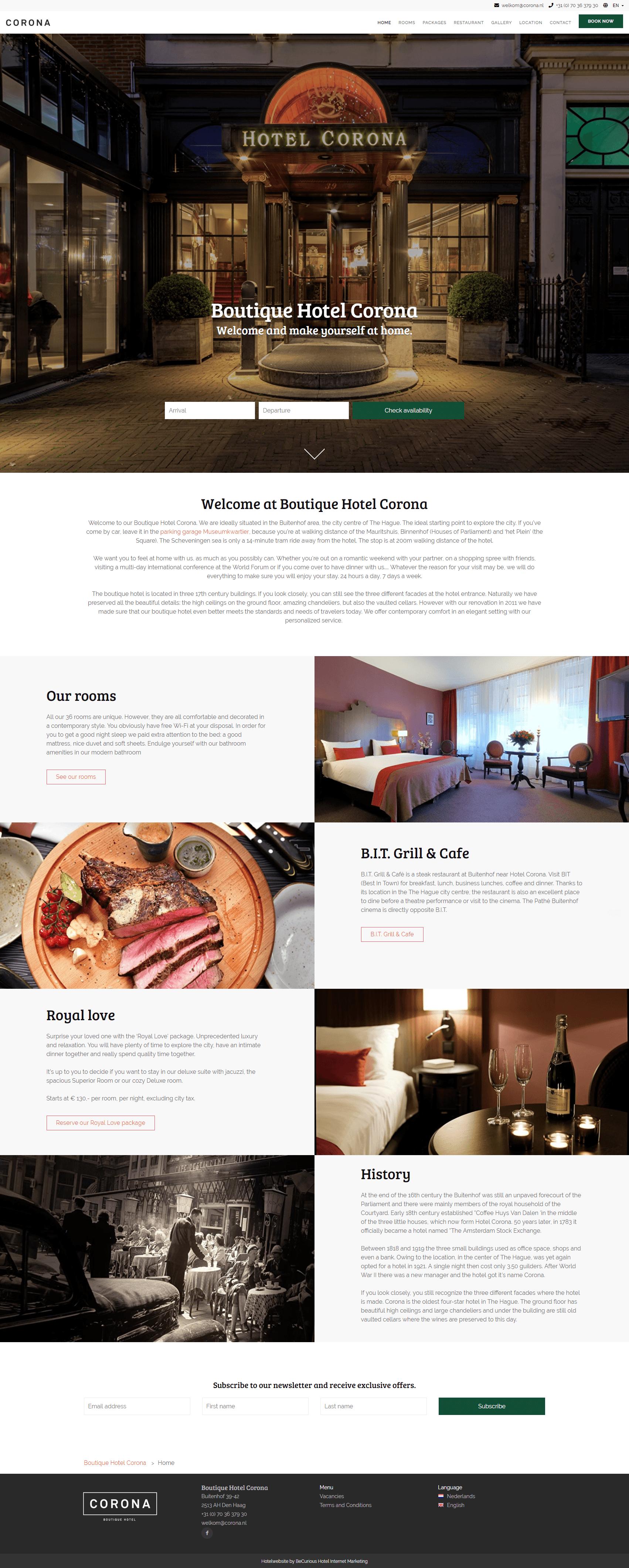 Hotel Corona Den Haag