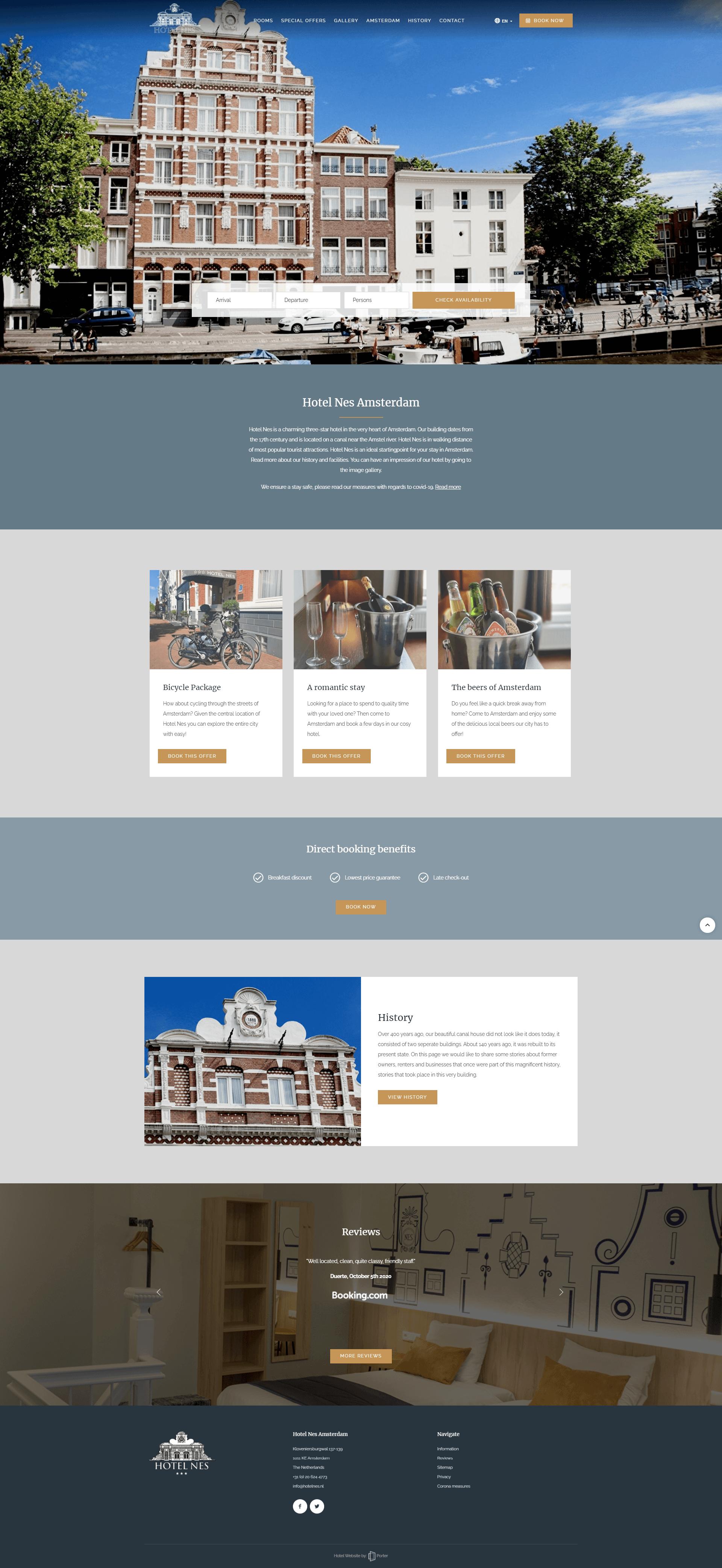Hotel Nes Amsterdam