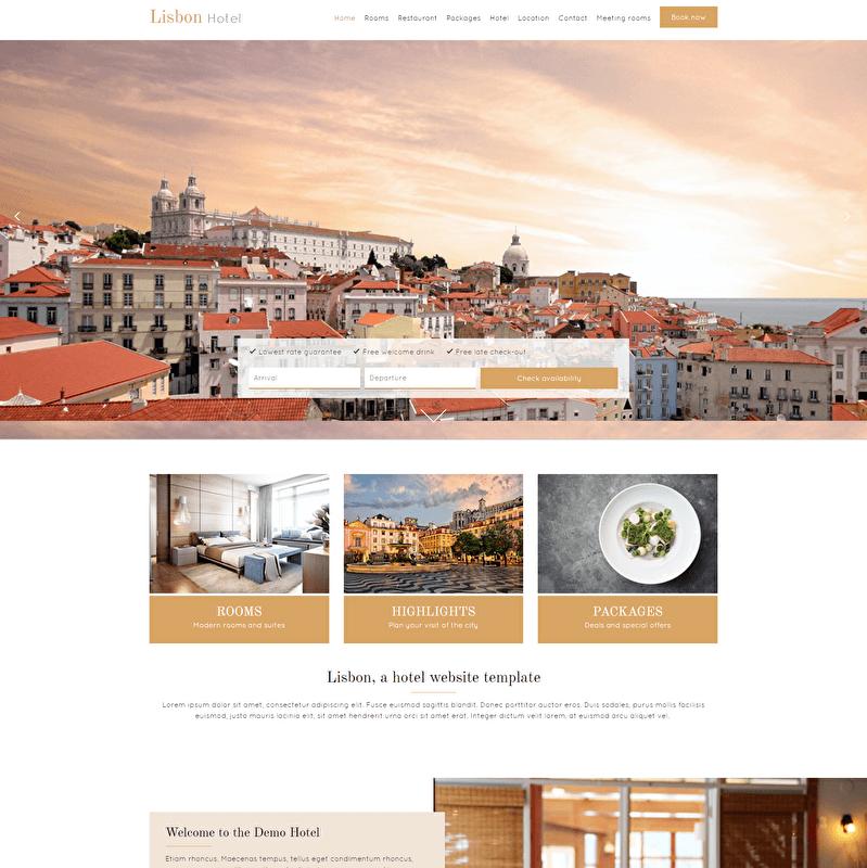 Lisbon Template