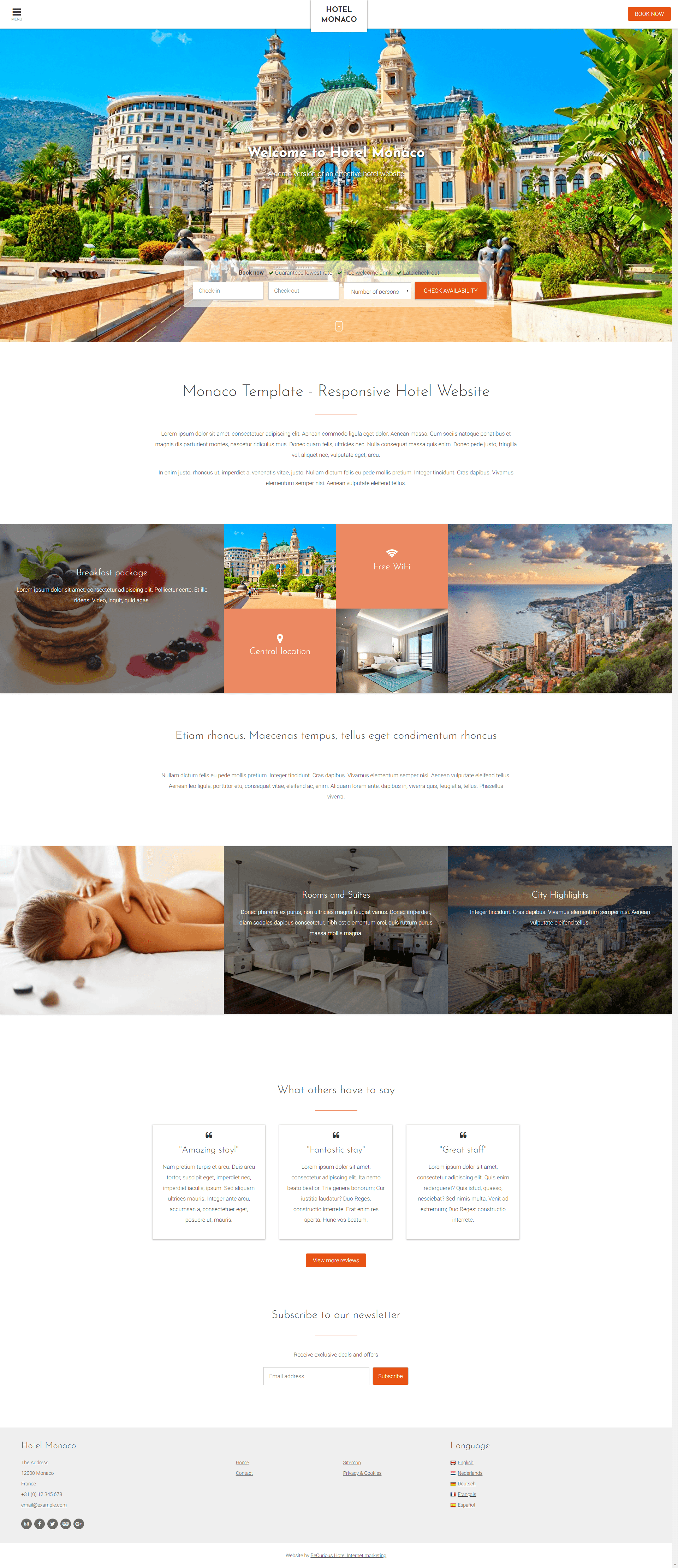 Monaco Template