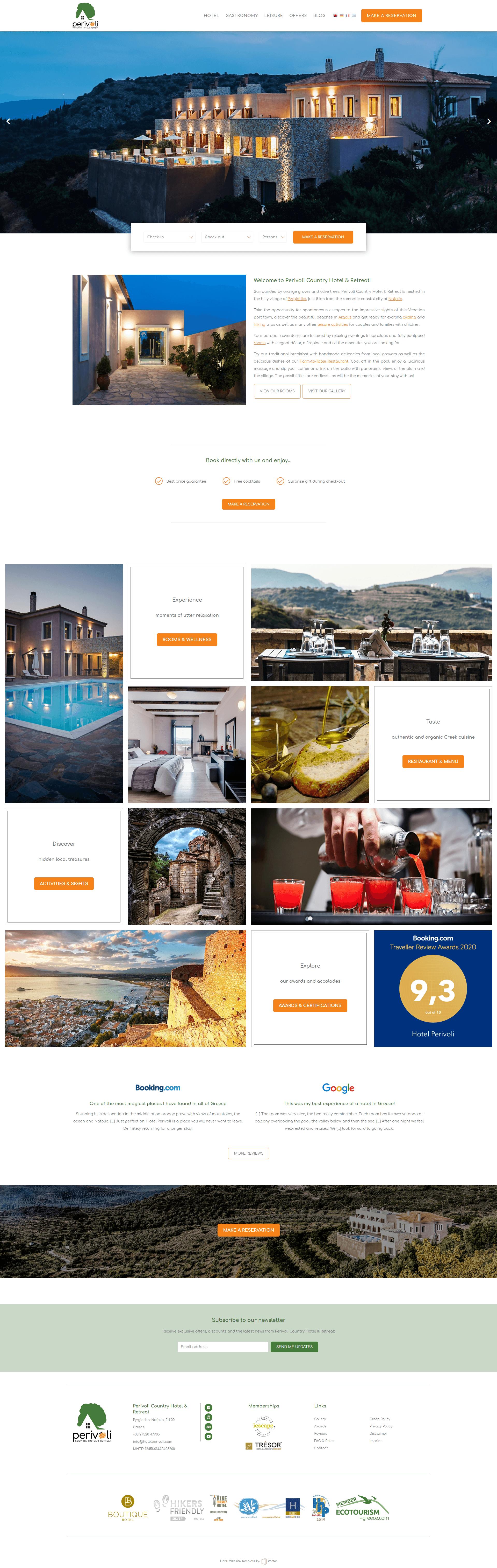 Perivoli Country Hotel & Retreat