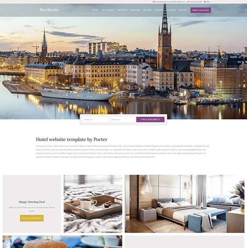 Stockholm Template