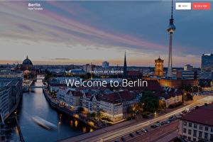 New: Berlin Hotel Website Template by Porter